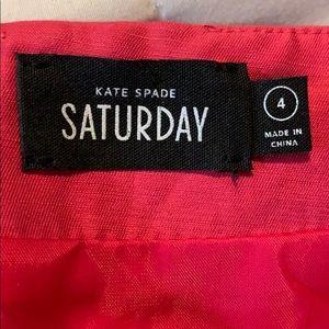 kate spade Skirts - 💙 Kate Spade Saturday ♠️ Pink Faux Wrap Skirt B